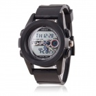 OHSEN 30M Water Resistant Digital + Quartz Movement Sports Wristwatch - Black (1 x 377)