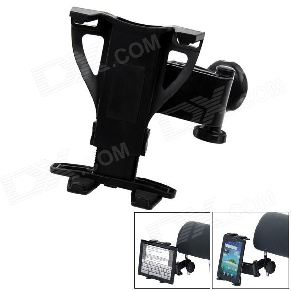 Universal Car Seat Pillow Mount Holder Bracket for Tablet PC - Black car charger for tablet pc cube u10gt u10gt2 aoson m19 more black dc 9v