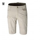 ESDY-813 Men's Outdoor Leisure Cotton Cycling Shorts - Khaki (Size M)