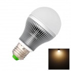 GCD CD E27 9W 350lm 3000K 20-SMD 5730 LED Warm White Light Bulb - White + Silver (AC 220~240V)