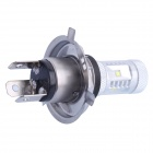 H4 30W 400lm 6-LED White for Car Foglight / Headlight (DC 12~24V)