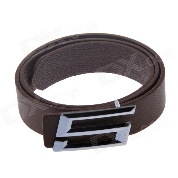 Fashionable Casual PU Leather Wild Belt w/