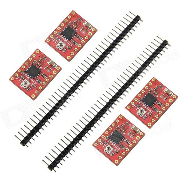 3D Printer A4988 2oz Module Stepper Motor Drive Reprap - Red (4 PCS)
