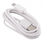 Mobile Phone Holder m / Dobbel USB billader + Micro USB-kabel for SAMSUNG / HTC / SONY - Hvit