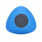 JT2681 Mini Portable Water Resistant Wireless Bluetooth V3.0 Speaker w/ Hands-free Mic - Blue