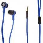 3.5mm In-Ear Earphone for IPHONE / HTC / Samsung - Blue (120cm)