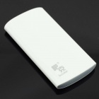 Buccker T10 ''6600mAh'' Li-polymer Battery Power Bank for Cellphone / IPAD / PSP / MP3 + More -White