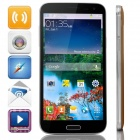 "G9000 Octa-Core Android 4.2.2 WCDMA Bar Phone w/ 5.3"" IPS FHD, 16GB ROM, OTG, GPS - Black + Golden"