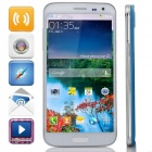 "G9000 Octa-Core Android 4.2.2 WCDMA Bar Phone w/ 5.3"" IPS FHD, 16GB ROM, OTG, GPS - White + Blue"