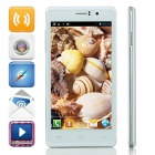"C8 MTK6582 Quad-Core Android 4.2.2 WCDMA Bar Phone w/ 5.0"" TFT, 4GB ROM, Wi-Fi, GPS, OTG - White"