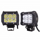 MZ 18W 1350lm 6500K 6 x CREE XB-D White LED Work Light (10~30V / 2 PCS)