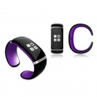 OLED Bluetooth V3.0 Smart Touch Bracelet Watch w/ Music Player / Call Answering / Pedometer - Black