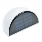 0.36W 12lm 6000K White 6-LED Waterproof Solar Wall Light (2V)