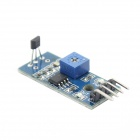 DIY Hall Switch Hall Sensor Module Smart Car - Blue