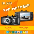 "BLACKVIEW BL500 2.7"" TFT Full HD 1080P 5.0MP CMOS Car DVR w/ GPS / IR / 178' Angle Lens / G-sensor"