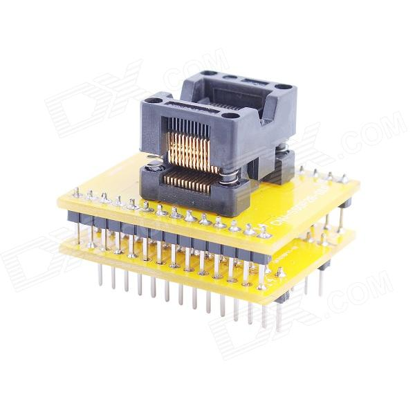все цены на  SOP28 to DIP28 Programmer Module Adapter Socket - Yellow  онлайн