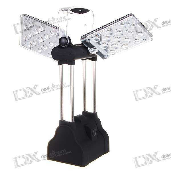 30-LED 2-Mode White Light Wing Camping and Garden Lantern (3*D)