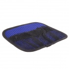 Portable Car Vehicle  Pockets Storage Organizer Holder Nylon Net Pouch Bag - Blue + Black