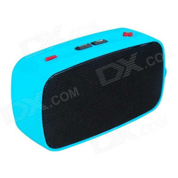 купить KB-200 Mini Wireless Bluetooth V2.0 Speaker w/ Hands-free / FM / TF / USB / 3.5mm - Black + Blue недорого
