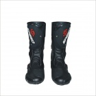 B1001 Motorcycle Protective Waterproof Boot Shoe - Black (Size 43)