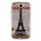 Kinston Vintage Eiffel Tower Pattern Hard Case for Samsung Galaxy S3 i9300