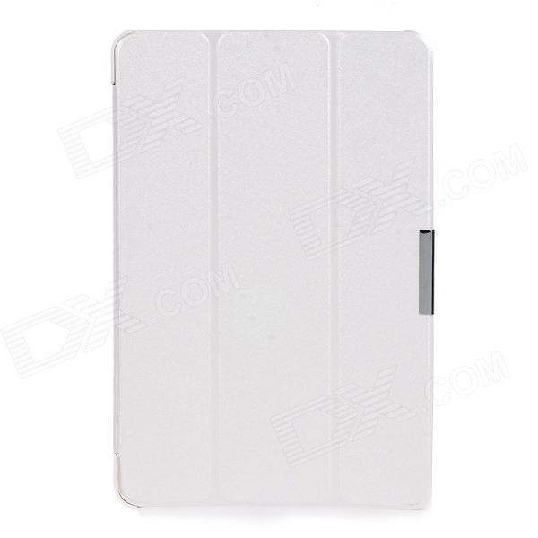 Folding Protective PU Leather Case w/ Magnetic Closure for Dell Venue 11 Pro - White