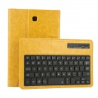 EPGATE Wireless Bluetooth V3.0  Keyboard + Protective PU Leather Case for Samsung T330 - Yellow