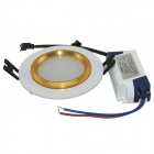 Marsing 4W 260lm Dimmable 12-SMD 5730 LED White Ceiling Light w/ LED Driver - Silver