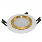 Marsing 4W 260LM Dimmable 12 SMD 5730 LED Blanc Plafonnier w / LED Driver - Argent