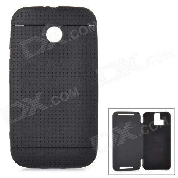 Protective TPU Back Case for Motorola Moto E - Black