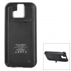 "External ""4200mAh"" Li-ion Battery Power Charger Back Case w/ Switch / Stand for HTC One (M8) - Black"