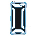 R-JUST Protective Ultra-thin Aluminum Alloy Back Case Cover for IPHONE 5 / 5S - Blue + Grey