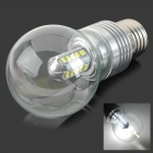 5W E27 450LM 6500K 25-2835 SMD LED White Light Bulb - Silber (AC 85 ~ 265V)