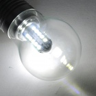 5W E27 450LM 6500K 25-2835 SMD LED White Light Bulb - Silver (AC 85~265V)