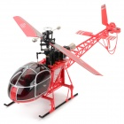 WLtoys V915 4-CH 2.4G LAMA Gyro Single Propeller R/C Helicopter / Aircraft Toy w/ Remote Controller
