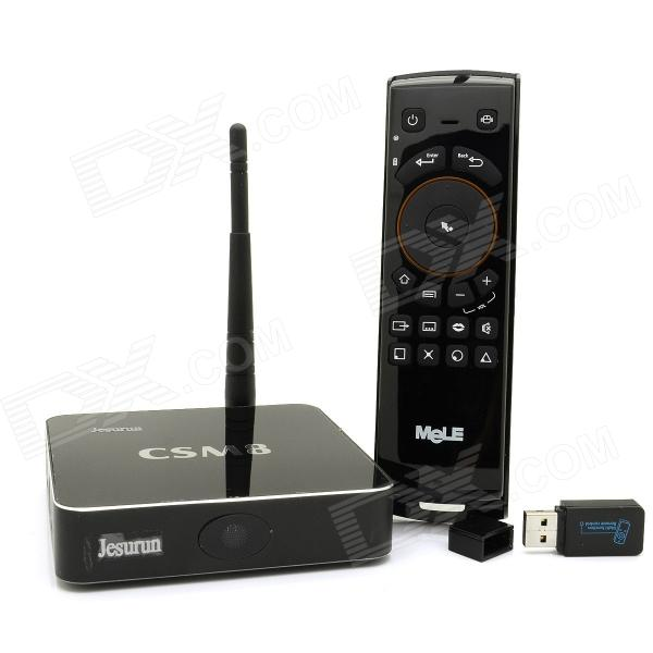 Jesurun CS-M8 4K Quad-Core Android 4.4.2 Google TV Player w/ 2GB RAM, 16GB ROM, XBMC + F10 Air Mouse аккумулятор hstnn ib75 ноутбук hp hstnn ob75 hp hstnn xb75