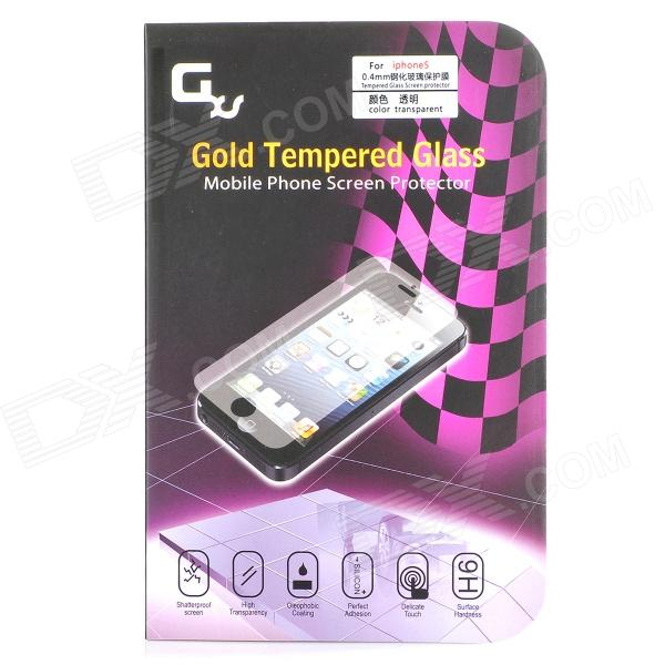 GXS G3 Protective 0.4mm Tempered Glass Screen Guard Protector for IPHONE 5 / 5S - Glossy