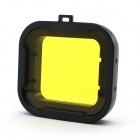 58mm Underwater Dive Filter Converter for Gopro Hero 4/ 3+ - Black + Yellow