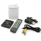 Jesurún MP021 Mini 1080P Full HD Media Player w / HDMI / USB / SD / AV / YUV - Negro