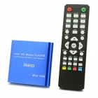 Jesurun MP021 Mini 1080P Full HD Media Player w/ HDMI / USB / SD / AV / YUV - Blue