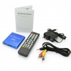 Jesurun MP021 Mini 1080p Full HD Media Player w / HDMI / USB / SD / AV / YUV - Azul