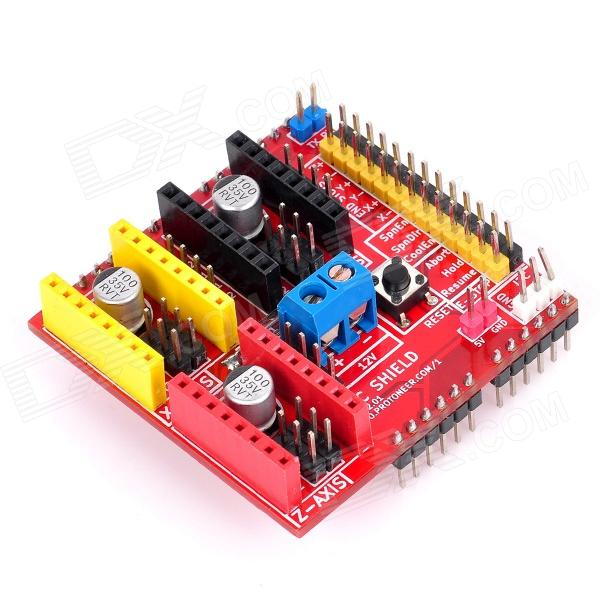 V2 3D Printer Driver Expansion Board for Arduino - Red блюдце улыбка диаметр 17 5 см 993016901