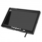 High Resolution 7'' LCD Digital Car Rear-View Security Monitor - Black