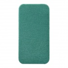 Angibabe Protective PU Top Flip Open Case for IPHONE 4 / 4S - Cyan
