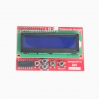 TENYING RGB Negative 16 x 2 LCD + Keypad Kit for Raspberry Pi - Red