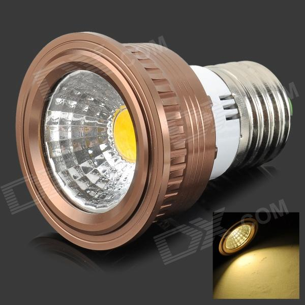 HH25 Dimmable E27 4W 180LM 3500K COB LED Warm White Light Lamp / Spotlight - Coffee (AC 220V)