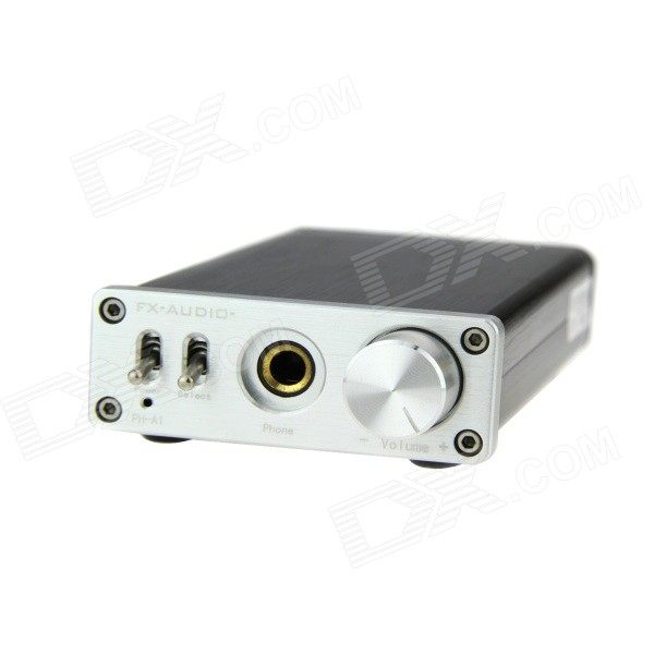 FEIXIANG PH-A1 Desktop 3.5mm Amplifier - Black + Silver (100~240V)