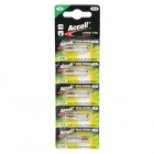 Accell 27A 13V Alkaline Ni-MH Battery for R/C Car Controller - White + Golden (5 PCS)
