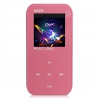 "ONN Q2 Ultra-Slim 1.5"" TFT Screen Sporting MP4 Player w/ FM / USB 2.0 / 3.5mm - Pink (8GB)"