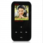 "ONN Q2 Ultra-Slim 1.5"" TFT Screen Sporting MP4 Player w/ FM / USB 2.0 / 3.5mm - Black (8GB)"